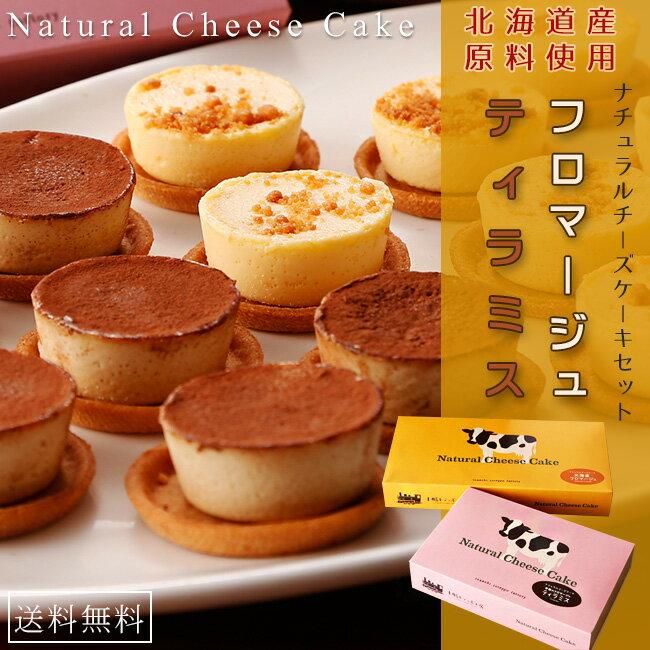 ナチュラルチーズケーキセット