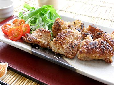 豚ガツは竜田揚げにしても美味しいですよ!